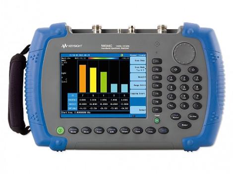 Keysight N9344C с опцией TG7 - Ручной анализатор спектра