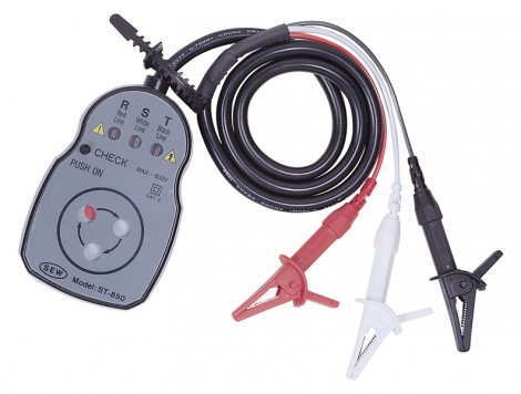 ST-850 - Измеритель порядка чередования фаз, Sew