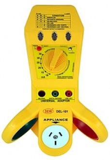 DEL-101 - Многофункциональный («4 в1») тестер-индикатор электрических сетей, Sew