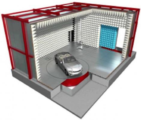 Frankonia AVTC - Безэховая камера для тестирования автомобилей