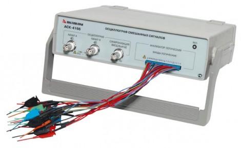АСК-4166 - Осциллограф USB смешанных сигналов, Актаком
