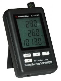 АТЕ - 9382 BT - Измеритель-регистратор температуры, влажности, давления АТЕ-9382 с Bluetooth интерфейсом