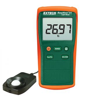 Extech EA31 - Измеритель освещенности