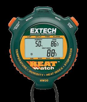 Extech HW30 - Секундомер цифровой - измеритель влажности и температуры