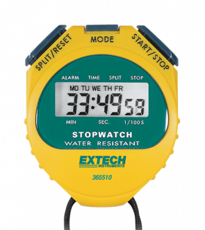 Extech 365510 - Цифровой секундомер / часы