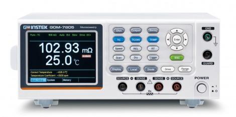GOM-7805 - Миллиомметр цифровой, GW Instek