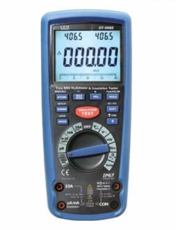 DT-9985 - Измеритель сопротивления изоляции с True RMS мультиметром, CEM