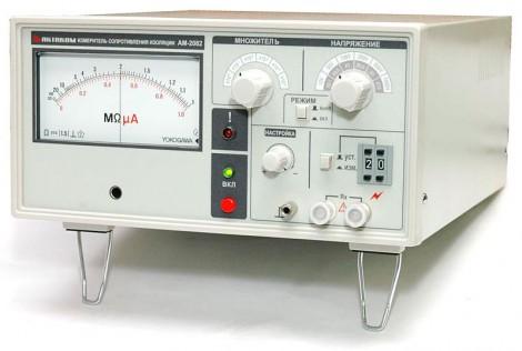 АМ-2082 - Измеритель сопротивления изоляции, Актаком