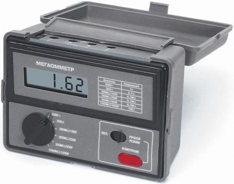 АМ-2002 - Мегаомметр цифровой, Актаком