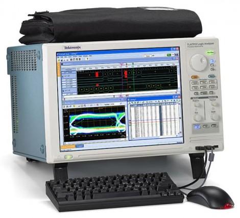 Tektronix TLA 7012 - Логический анализатор