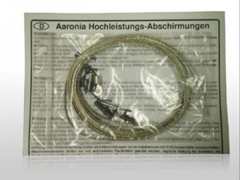 """Aaronia Grounding Kit with Alligator Clip - Набор для заземления экранирующих материалов c зажимом """"крокодил"""""""