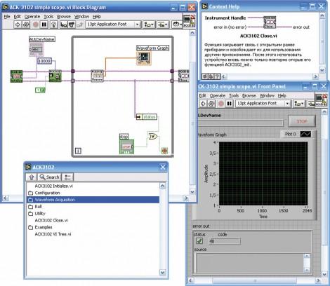 ACK-3102_SDK - Полный комплект средств разработки ПО, Актаком