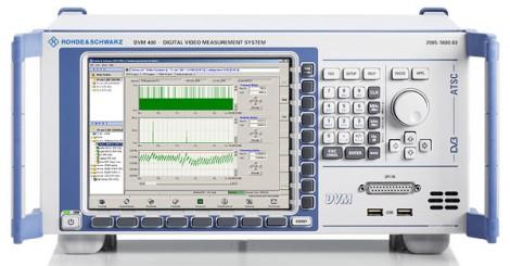 Rohde&Schwarz DVM 400 – Измерительная система цифровых видеосигналов