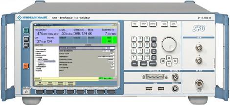 Rohde&Schwarz SFU – Система для тестирования вещательного оборудования