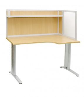 АРМ-4425-П - Стол для офиса с эргономичной столешницей, Актаком