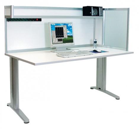 АРМ-4425-ESD - Стол инженера/менеджера с антистатической столешницей, Актаком