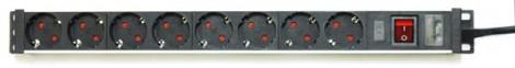 АТР-9108 - Удлинитель с 8 евророзетками, Актаком