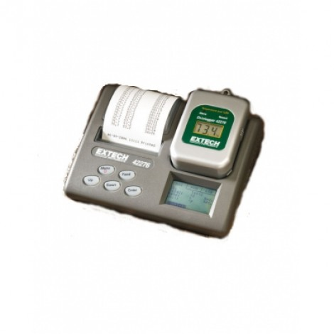 Extech 42276 - Регистратор данных температуры/влажности с принтером