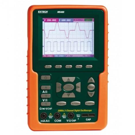 Extech MS 400 - двухканальный цифровой осциллограф на 20МГц