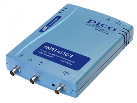 АКИП 4110/2 - Цифровой запоминающий USB-осциллограф