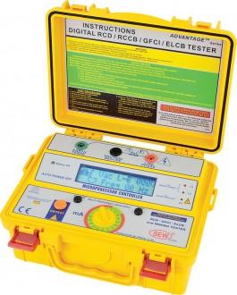 4112 EL - Цифровой измеритель параметров устройств защитного отключения, Sew