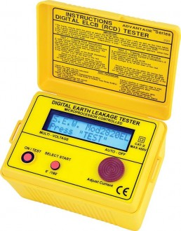 2820 EL - Цифровой измеритель параметров УЗО, Sew