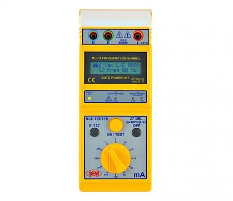 2712 EL  - Цифровой измеритель параметров УЗО, Sew