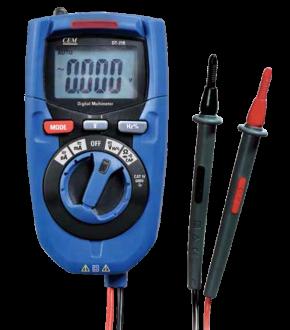 DT-218 - Мультиметр цифровой, CEM