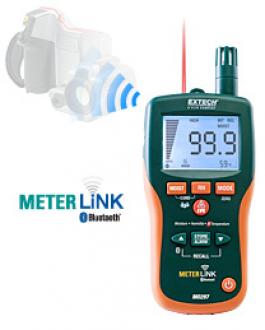 Extech MO297 - Бесштифтовой психрометр/ измеритель влагосодержания с инфракрасным термометром