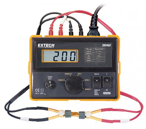 Extech 380460 - Прецизионный миллиомметр