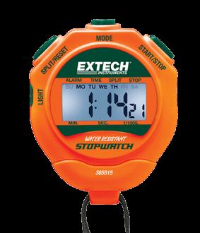 Extech 365515 - Электронный секундомер / часы с подсветкой дисплея