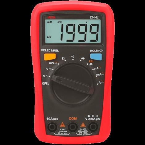 RGK DM-12 - Мультиметр