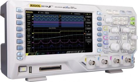 Rigol DS1104Z-S Plus - Цифровой осциллограф с опцией встроенного генератора