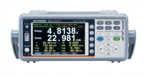 GPM-78310+DA4 - Измеритель электрической мощности, GW Instek