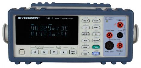 BK Precision 5491В - Настольный цифровой мультиметр с возможностью измерения True RMS значений