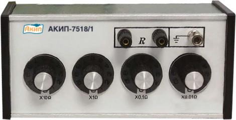 АКИП-7518/2 - Мера сопротивления