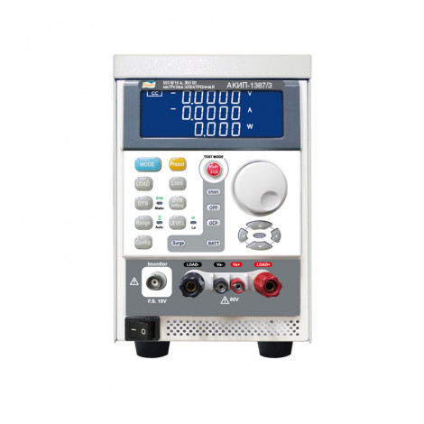 АКИП-1387/1 - Нагрузка электронная